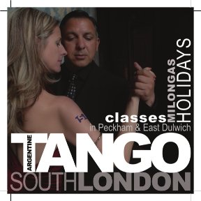tango south london flyer logo front