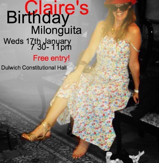 Claire birthday